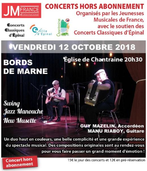 Concert Bords de Marne